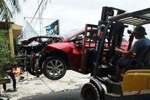 Hải Phòng: Xe hơi nổ tung nghi do gài mìn