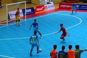 Vòng loại Giải Futsal HDBank VĐQG 2018: Cao Bằng để hòa Sanest Tourist Khánh Hòa