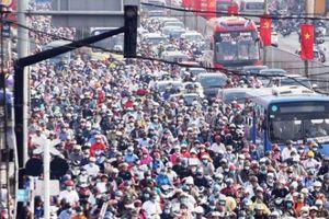Đi làm sau nghỉ lễ, người Sài Gòn 'đứng hình' khi gặp kẹt xe khủng khiếp