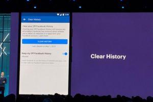 Facebook sắp có tính năng xóa lịch sử tương tác trong 'nháy mắt'
