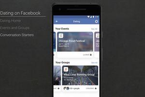 Facebook thêm tính năng hẹn hò, cạnh tranh với Tinder