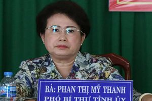 Bà Mỹ Thanh nói gì với cử tri về sai phạm của mình?