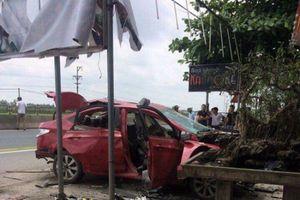 Tin chính thức về vụ nổ xe ô tô của chủ cửa hàng karaoke