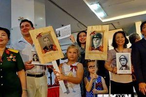 Kỷ niệm 73 năm Ngày Chiến thắng phátxít tại Thành phố Hồ Chí Minh