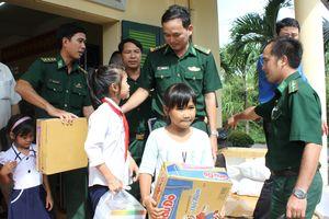 Tấm lòng của những người lính ở Đồn Biên phòng Kiểng Phước