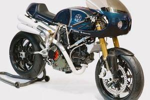Ducati Monster 1100 độ cơ bắp phong cách Mỹ của ông trùm RIZOMA
