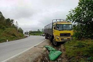 Xe tải mất lái khi xuống dốc, tông một người tử vong