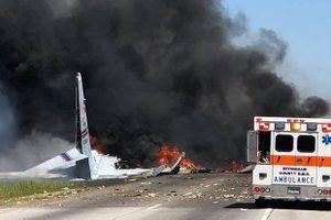 Rơi máy bay quân sự Mỹ, nhiều binh sĩ thiệt mạng