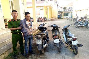Lợi dụng sơ hở, trộm xe máy của người dân đi lễ chùa