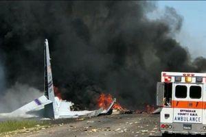 Mỹ: Rơi máy bay quân sự C-130, toàn bộ phi hành đoàn thiệt mạng