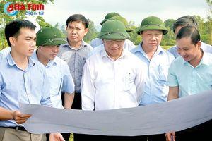 Tháo gỡ khó khăn, đẩy nhanh tiến độ các công trình kỷ niệm 50 năm Chiến thắng Đồng Lộc