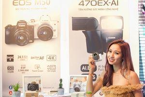 Canon ra mắt máy ảnh EOS M50 với nhiều cải tiến