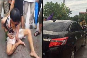 Hưng Yên: Nghi bắt cóc trẻ em, người đàn ông lạ bị người dân vây bắt