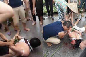 Dân làng vây đánh người đàn ông vì nghi bắt cóc trẻ em