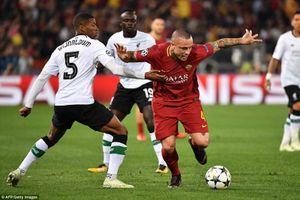 Video bàn thắng Roma vs Liverpool: Ngàn cân treo sợi tóc