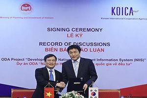 Hàn Quốc viện trợ không hoàn lại 5,5 triệu USD cho Việt Nam