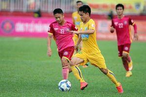 Lượt trận sớm vòng 7 V-League 2018: FLC Thanh Hóa chờ Đức Thắng giải cứu