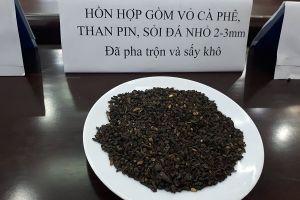 Đắk Nông: Khởi tố 5 bị can vụ trộn than pin vào cà phê