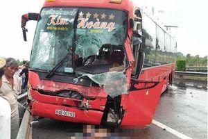 Tai nạn trên cao tốc TP. HCM - Trung Lương 2 người thương vong