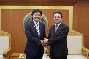 Bộ trưởng Trần Hồng Hà: Mong muốn nâng tầm chất lượng hợp tác lĩnh vực TNMT Việt Nam - Nhật Bản