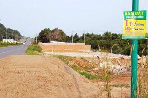 Tạm ngưng chuyển đổi mục đích sử dụng đất đối với các khu phân lô, tách thửa huyện đảo Phú Quốc