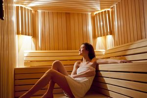 Xông hơi khô sau tập luyện giúp ngăn ngừa đột quỵ