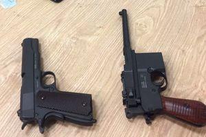 Cán bộ công an trộm súng cơ quan đem bán