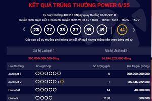 Lại thêm một người trúng Jackpot Vietlott 37 tỷ đồng