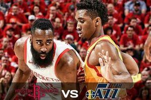 Trình diễn bộ mặt mới, Houston Rockets hủy diệt Utah Jazz