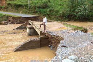 Hà Giang: Khẩn trương khắc phục hậu quả do mưa lũ gây ra tại huyện Bắc Mê