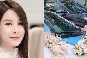 Cận cảnh dàn xe 'khủng' chồng thiếu gia sẽ đón cô dâu Diệp Lâm Anh
