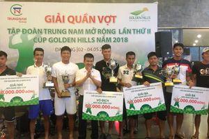Các tay vợt Đà Nẵng thống trị Giải quần vợt Trung Nam mở rộng