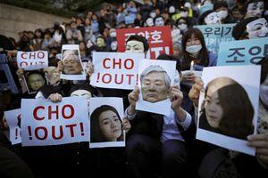 Nhân viên xuống đường đòi chủ tịch tập đoàn Korean Air từ chức