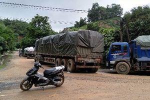 Yên Bái: Đã thông xe tại những điểm ách tắc do sạt lở