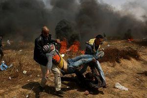 Israel nổ súng làm 1.000 người Palestine bị thương tại Dải Gaza