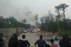 Nổ bom tại Dải Gaza làm 6 người thiệt mạng