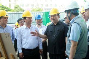 Bí thư Thành ủy Hoàng Trung Hải: Tập trung mọi nguồn lực để thực hiện dự án đường sắt đô thị