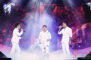 Bộ 3 soái ca Đàm Vĩnh Hưng, Tuấn Hưng, Quang Hà hòa giọng trên sân khấu thủ đô
