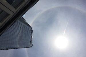 Hiện tượng kì lạ xuất hiện ở bầu trời Huế