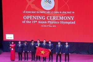 188 thí sinh từ 25 quốc gia dự thi Olympic Vật lí Châu Á lần thứ 19 tại Việt Nam