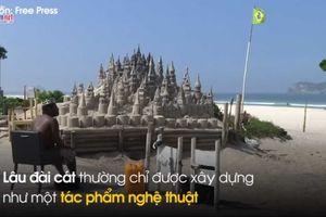 'Vua không ngai' sống hơn 20 năm trong lâu đài cát