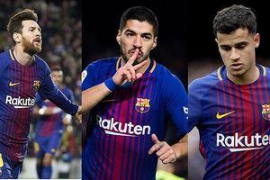 Đội hình dự kiến của Barca trước Real: Iniesta đá chính?