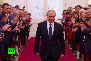 TRỰC TIẾP Lễ nhậm chức Tổng thống Nga của ông Putin