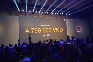Xiaomi ra mắt điện thoại chuyên chụp hình, giá dưới 6 triệu đồng