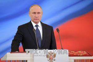 Trọng trách vì nước Nga thịnh vượng và hòa bình
