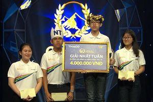 Nhà vô địch tuần Olympia giành điểm số cao hơn 3 đối thủ cộng lại