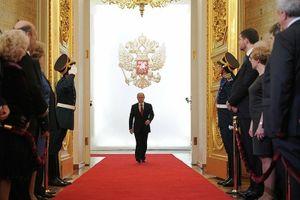 Ông Putin nhậm chức Tổng thống Nga nhiệm kỳ thứ 4