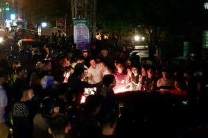 Cảnh sát 113 giải cứu tài xế gây tai nạn liên hoàn bị người dân vây đánh