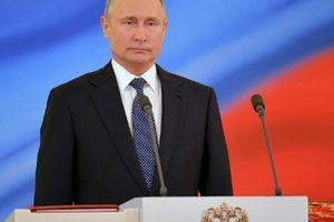Tổng thống Nga Vladimir Putin được đánh giá là lãnh đạo quyền lực nhất thế giới