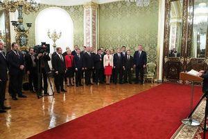 5 khoảnh khắc đặc biệt trong lễ nhậm chức của ông Putin